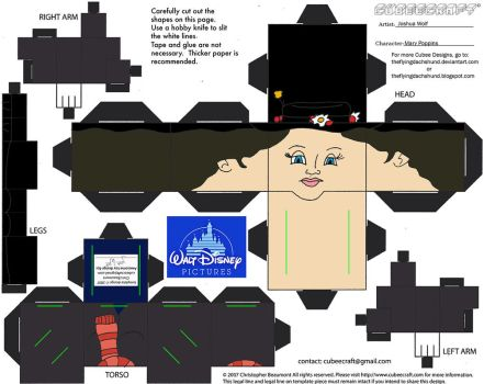 Dis52: Mary Poppins Cubee by TheFlyingDachshund