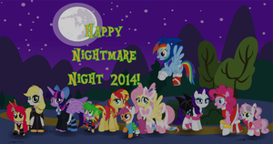 Nightmare Night 2014 by Itoruna-The-Platypus