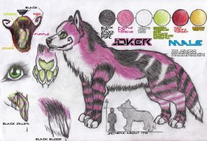 Reference Sheet -Joker- by Equive