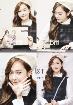 [Edit] Jessica @141206 Jessica @ Lapalette Event by yeol-yeol