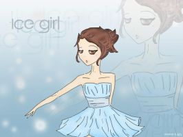 Ice girl by ailaahdo