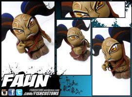 Pans Labyrinth Fawn vinylmation by F1shcustoms