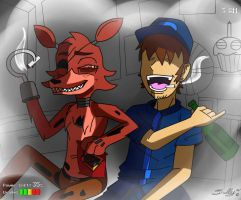 Five Nights At Freddie's (Night 3) by Dalley-Le-Alpha
