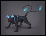Demon dog adoptable CLOSED by Psunna