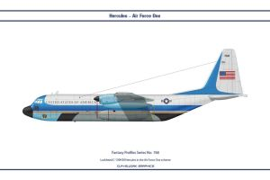 Fantasy 768 C-130 Air Force One by WS-Clave