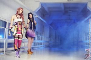 Final fantasy XIII-2. You too can show the way by DenikaKiomi