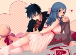Gray/Juvia by Marmaladica