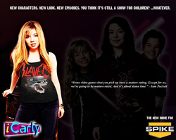 iCarly Promo for SPIKE TV by MrAngryDog