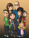 My fam by Garrenh