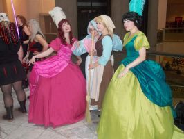 Cinderella and her Stepsisters by rjccj