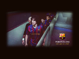 FC Barcelona Wallpaper by Ccrt