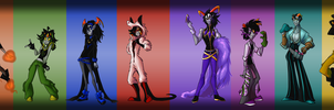 Fantrolls Line Up by 7-Days-Luck