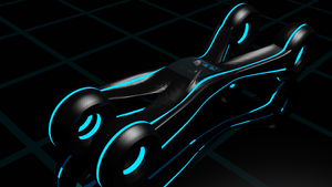 Tron Xenith Car WIP by Mikey-Spillers