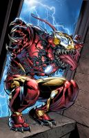 Iron Man Venom by GURU-eFX