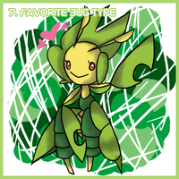 Day 7- Favorite Bug Type by MewGlaceon