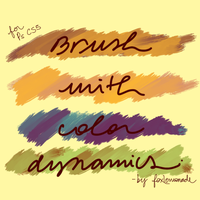 Photoshop Brush by foxlemonade by leopardes