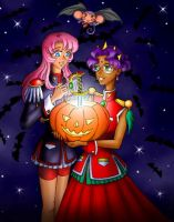 Utena - Halloween power by astra3000