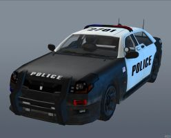 LAPD CAR [Black Ops II] by Goreface13