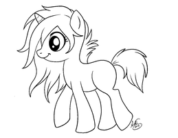 MLP Lines for MS paint users by Miss-Melis