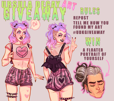 INSTAGRAM GIVEAWAY by UrsulaDecay