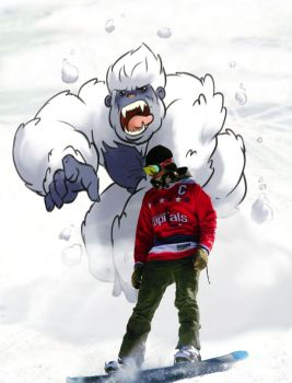 Commission_Beware of the Yeti by ScoobyKun