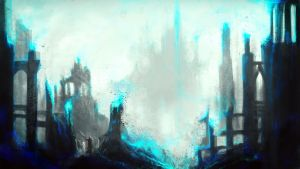 The Dissolving City by cubehero