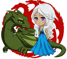 Daenerys by VanillaPuddings