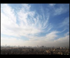 Cairo Cityscape by Black-Rose-Angel