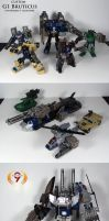 G1 Bruticus Crossfire Custom by Unicron9