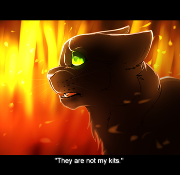 ''They are not my kits.'' by Agelenawolf