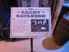the leaky cauldron Diagon alley info board by Sceptre63