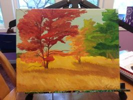 Fall Painting by Superpersonx