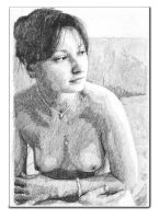 Female Nude Akt By Pawelta2 by erotiquetales