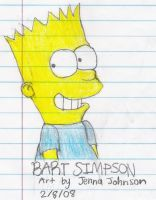 Bart Simpson by Agufanatic98