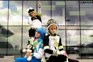 DmmD Noiz Aoba Usagimodoki Cosplayers by WiredintoSpace