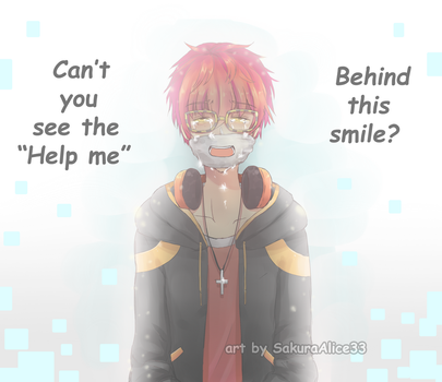 Behind 707's smile ::Mystic Messenger:: by SakuraAlice33