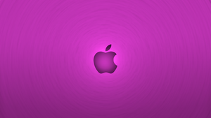 Apple Violet Wallpaper ~ Tornado Style by Kryuko