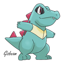 Totodile by aipomrules