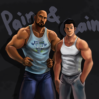 Pain and Gain by Ferroconcrete247