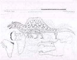 Creatures of Albian-Cenomanian North Africa: P.T 3 by 105697