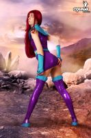 Starfire by cosplayerotica
