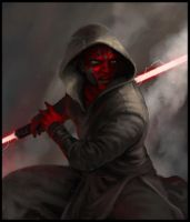 Darth Maul by HasinaHr