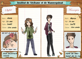 Fiche Personnage pour l'ISM by morgane-romanetti