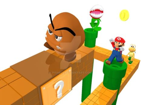 Mario 3D Project 02 by pishble