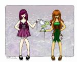-Color- Tea for Two by taeliac