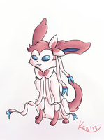 Sylveon by Kinetic-duet