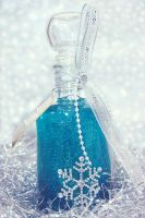 Snowflake Bottle by DorotejaC