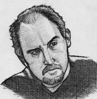 Louis CK by Kid-With-The-Hat