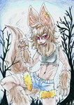 Wolfgirl by eente