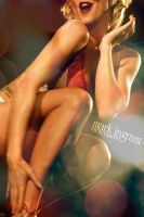Burlesque Bokeh 1 by Mark-Ingram
